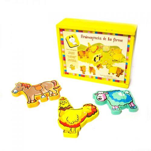animales imantados niños juegos educativos