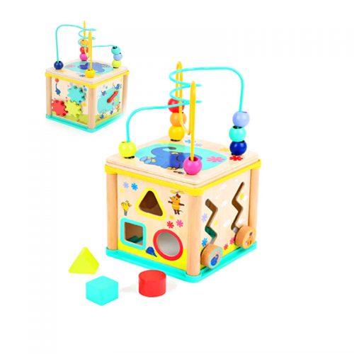 cubo multifuncion niños