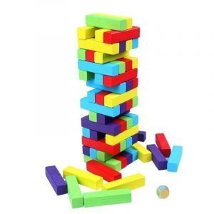 jenga colores numeros educativo