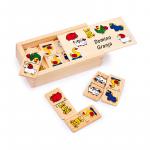 juguete domino educativo granja