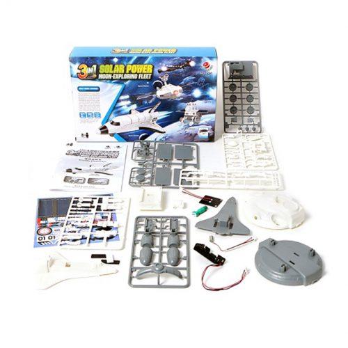 juguete kit robotica solar 3en1