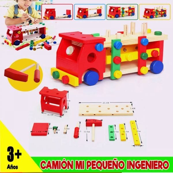 camion armable educativo