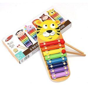xilofono de madera con dibujos de animales 2  1
