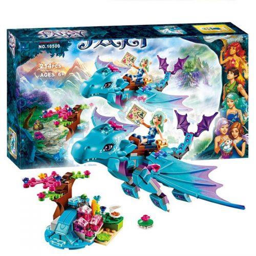 214pcs set Bela 10500 The Water Dragon Adventure Building Bricks Blocks DIY Educational toys Compatible Lepin