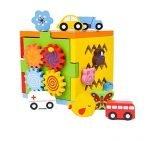 Cubo multifuncional Montessori