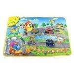 Formación Musical Mat de La Granja Animal alfombras de juego bebé juguetes música alfombra manta táctil juguetes educativos para niños