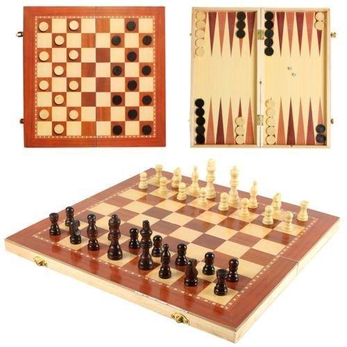 ajedrez madera damas juegos