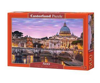 puzzle castorland vista del vaticano de 500 piezas 2 15600