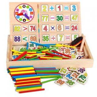 caja de aprendizaje de matematicas