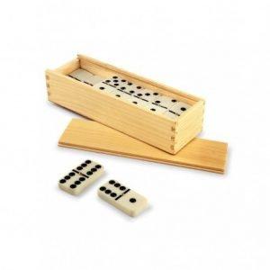 domino caja madera