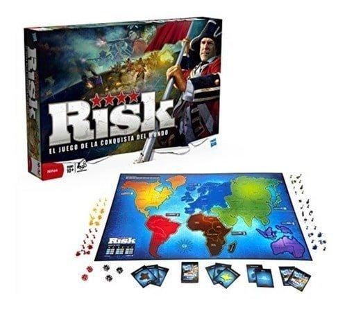 hasbro juego de mesa risk juego de la conquista del mundo