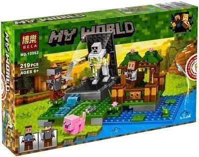 Lego maincraft peru 219 piezas
