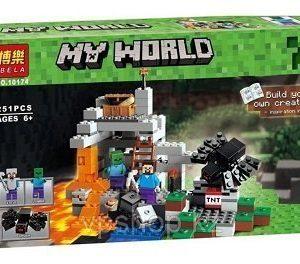 Lego maincraft peru 251 piezas