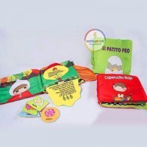 Libros de tela sensoriales para bebe estimulacion
