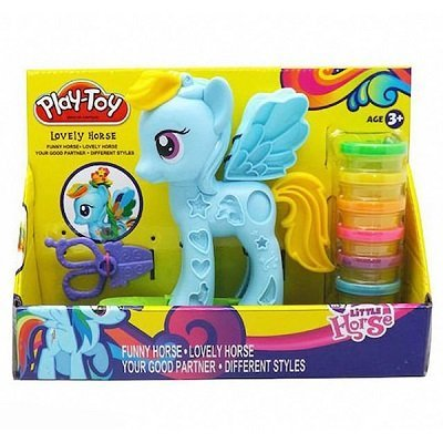 Plastilia pony colores arena magica