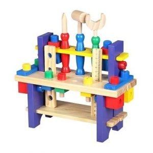 banco de herramientas de madera para ninos