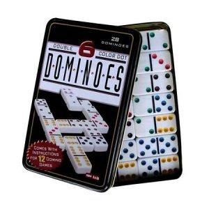domino lata de puntos fichas juego de mesa