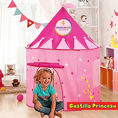 casita educativa jugar ninos princesa