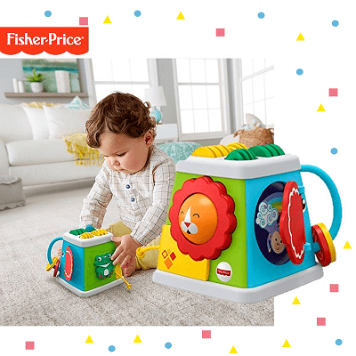 cubo multifuncional fisher price bebe