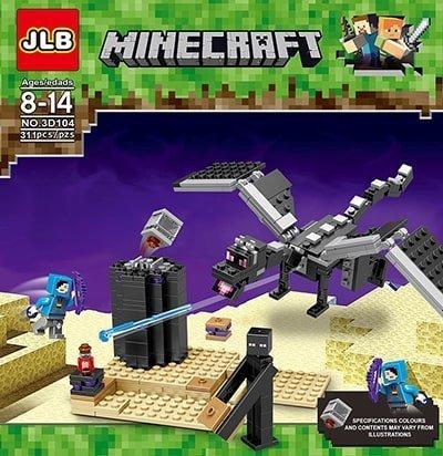 lego minecraft 311piezas