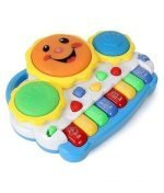 tambor musical bebe piano