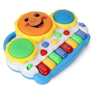tambor musical bebe piano