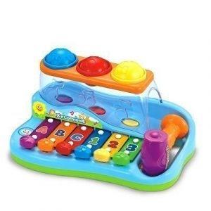 xilofono con martillo bebe estimulacion temprana
