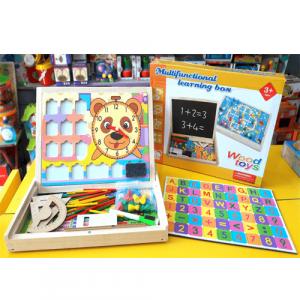 Caja de actividades para aprendizaje matemáticas