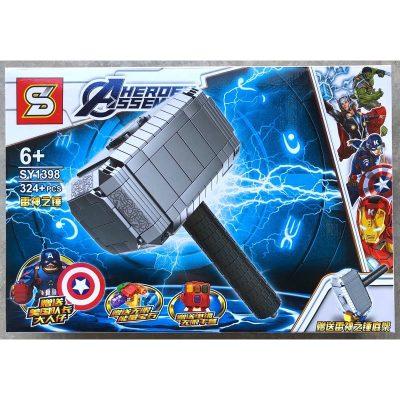 lego thor martillo super heroes intelikids peru