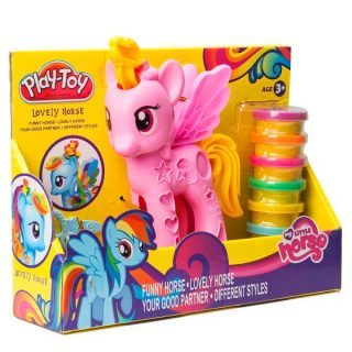 Plastilina Play Toy Little pony
