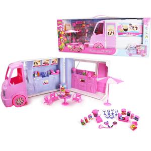Bus jugueria para niñas