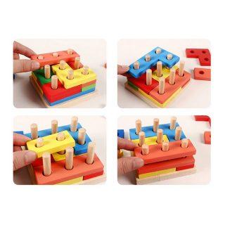 Torre de inteligencia para niños con autismo