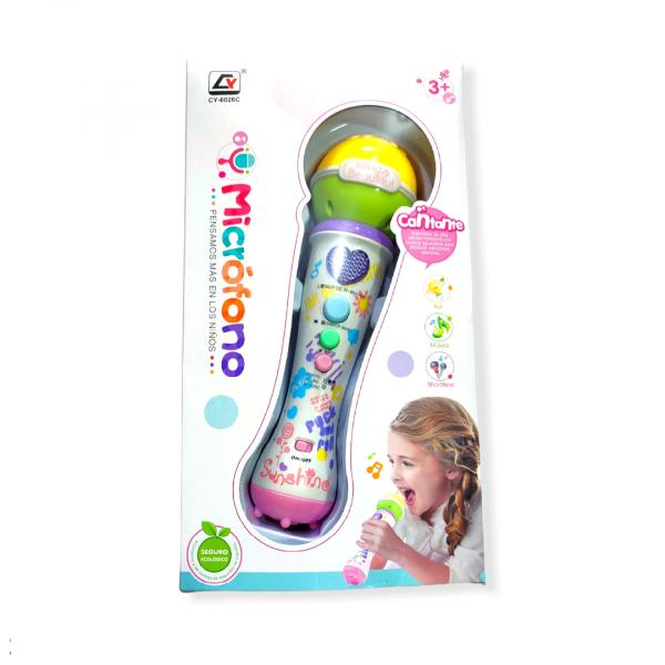 El micrófono para niños es un excelente juguete para los más pequeños del hogar.