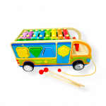 Bus didáctico con xilófono y encaje