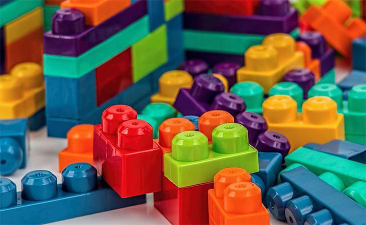 Legos y bloques para niños