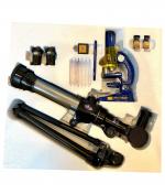 set telescopios y microscopios educativos para ninos peru lima